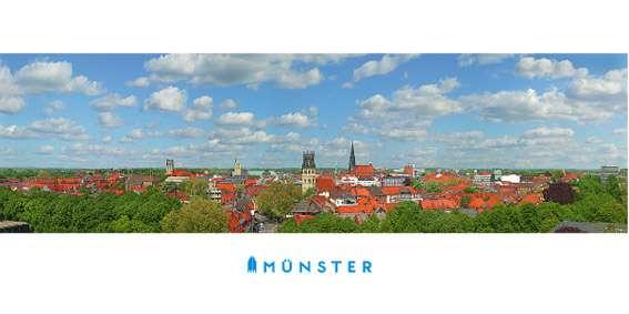 Klappkarte JHD - Münster Panorama