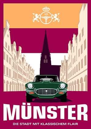 Poster Wentrup - Münster mit klassischem Flair