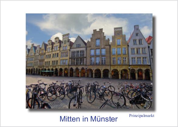 Postkarte Prinzipalmarkt 2 (Räder) mmm
