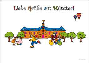 Postkarte JHD - MuKKi Schloss