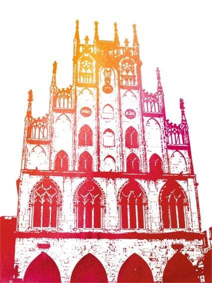 Postkarte Historisches Rathaus Utermann