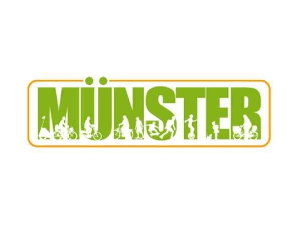 Aufkleber JHD - Münster grün