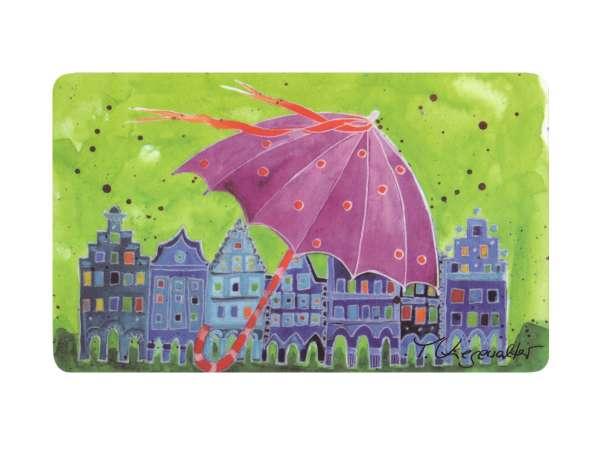 Frühstücksbrettchen Kiesewalter - Regenschirm in Münster