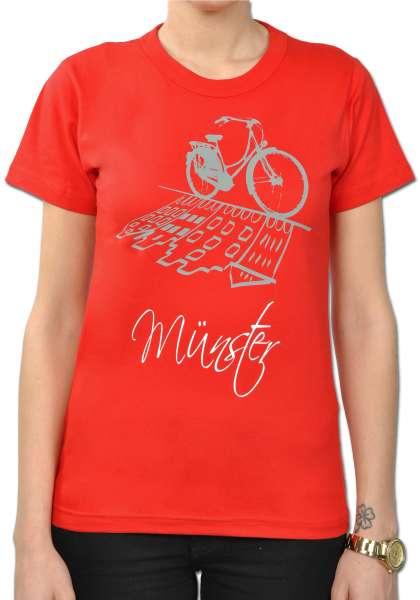 Damen T-Shirt Sonnendeck - Nostalgierad