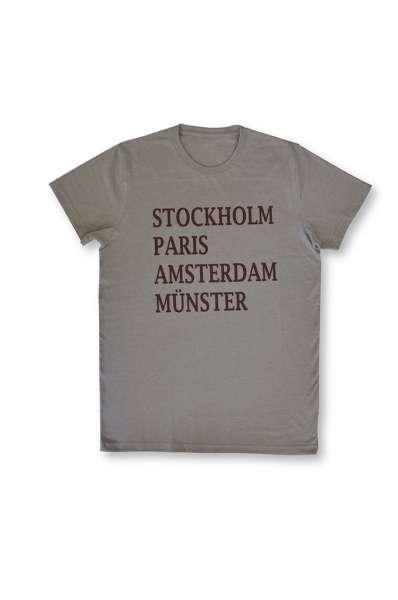 T-Shirt Großstädte und Münster