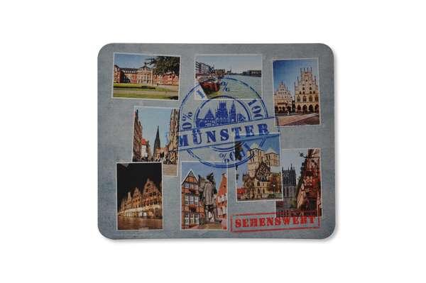 Mousepad - Münster 100% Sehenswert