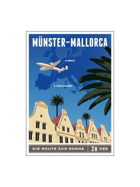 Postkarte Wentrup - Münster-Mallorca
