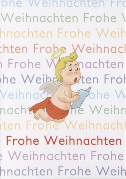 Postkarte Wendelin Schrift mmm