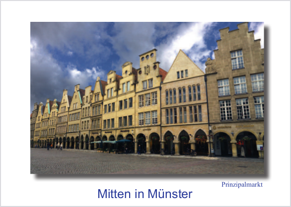 Postkarte Prinzipalmarkt 1 mmm