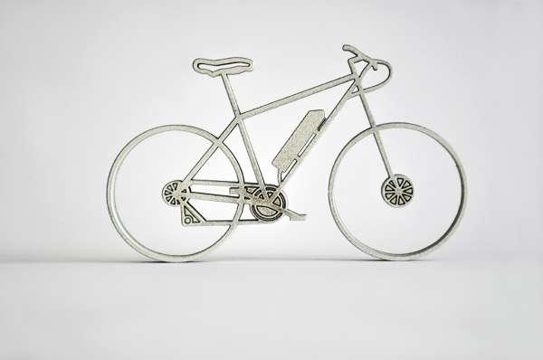 3D Deko Fahrrad E-Bike NoGallery