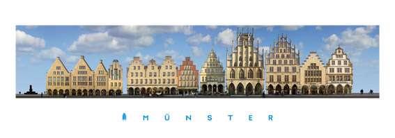 Panorama-Poster JHD - Prinzipalmarkt