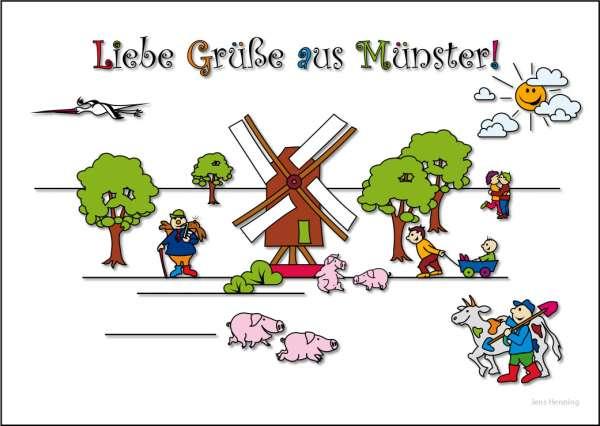 Postkarte JHD - MuKKi Mühlenhof