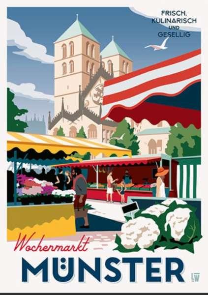 Poster Wentrup - Wochenmarkt
