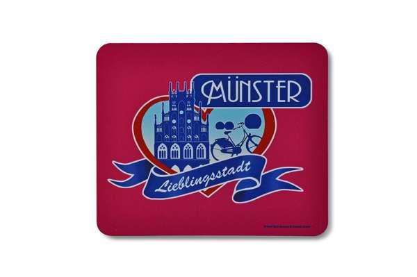 Mousepad - Lieblingsstadt Münster
