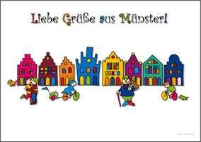 Postkarte JHD - MuKKi Prinzipalmarkt
