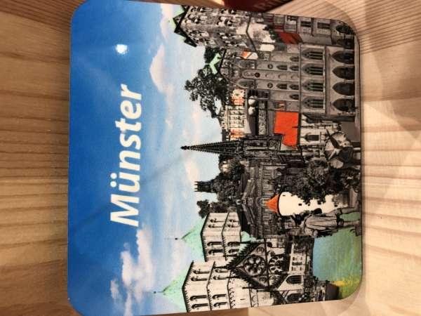 Untersetzer - Münster Akzente