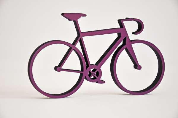 Fahrrad violet