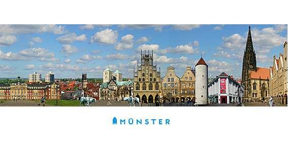Klappkarte JHD - Alles aus Münster