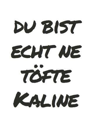 Postkarte Töfte Kaline - Bockstette