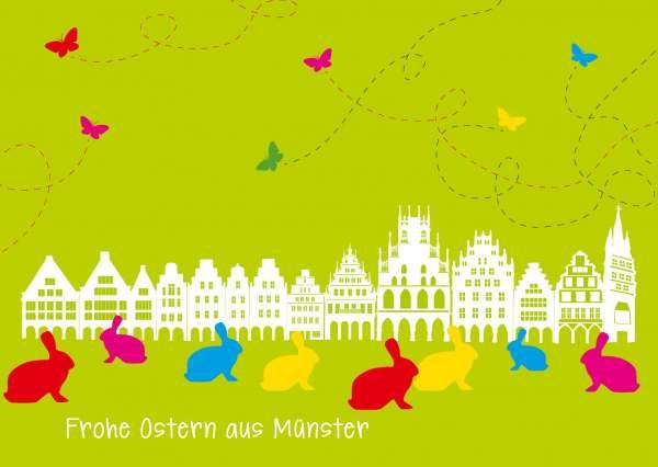 Postkarte mmm - Prinzipalmarkt zu Ostern