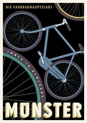 Poster Wentrup - Fahrradhauptstadt Münster
