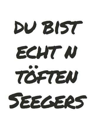 Postkarte Töften Seegers - Bockstette