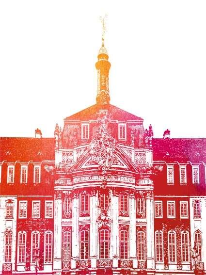 Postkarte Münster Schloss Utermann