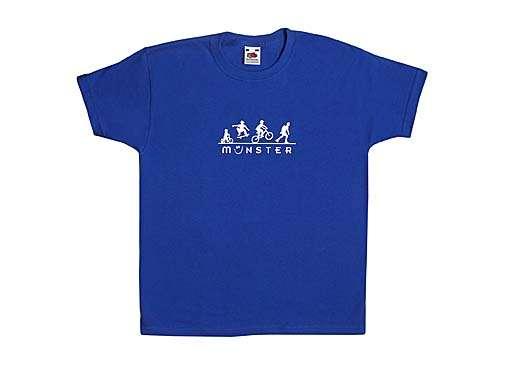 Jungen T-Shirt - Radler, Skater und Co.