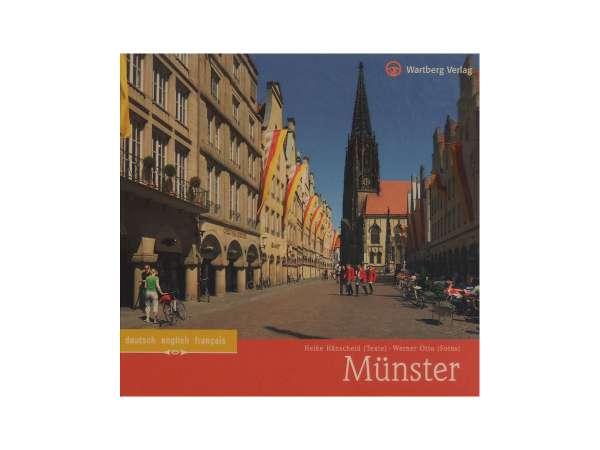 Buch Wartberg - Münster - engl. deutsch franz.