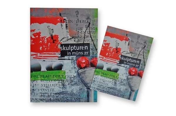 Postkarte klein Ottenjann - Skulptur