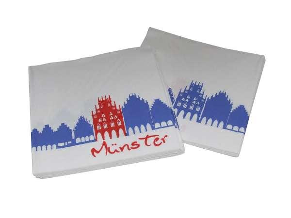 Papierservietten - Historisches Rathaus Münster