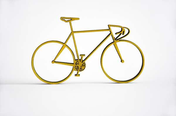 3D Deko Fahrrad Rennrad NoGallery