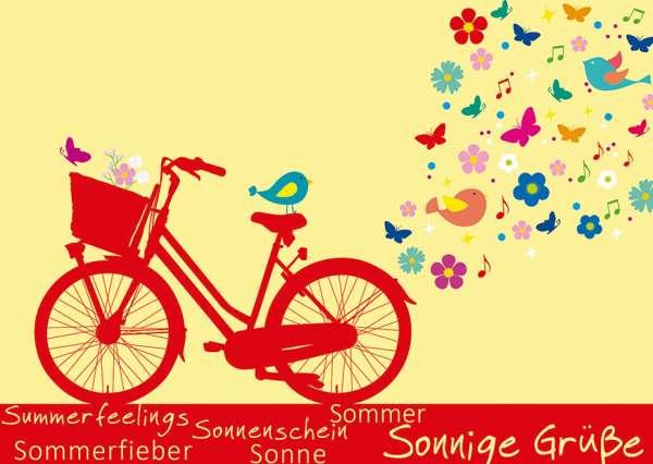 Postkarte - Sommerfieber mmm