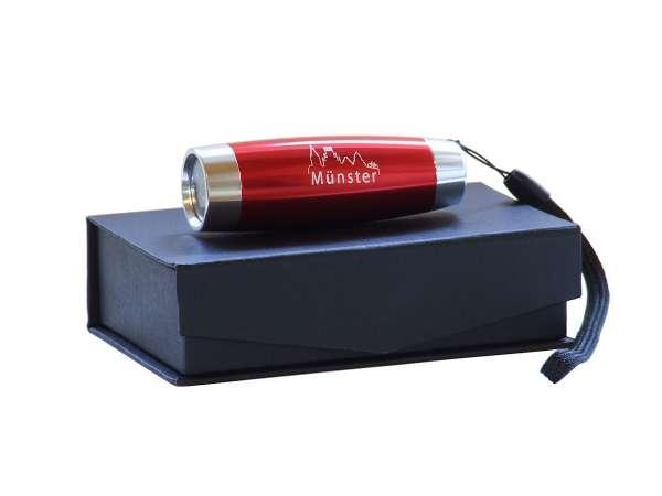 LED Taschenlampe - rot oder blau