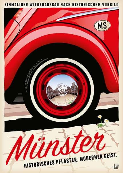 Postkarte Wentrup - Historisches Pflaster