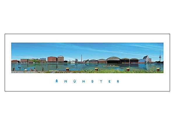 Panorama-Poster JHD - Hafen
