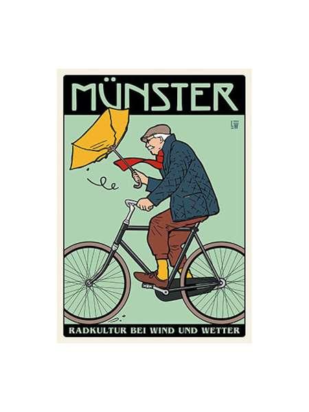 Postkarte Wentrup - Radkultur in Münster
