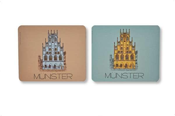 Untersetzer - Edition hist. Rathaus Münster