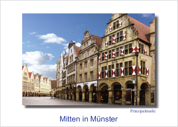 Postkarte Prinzipalmarkt 3 (Café Kleimann) mmm