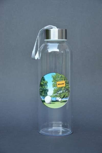 Trinkflasche Glas - Aasee und Masematte