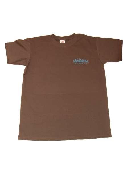 Herren T-Shirt JHD - Radfahrer braun