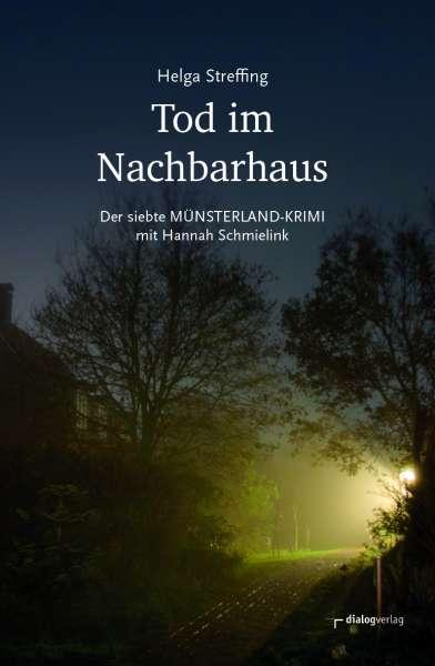 """Buch """"Tod im Nachbarhaus"""" Helga Streffing"""