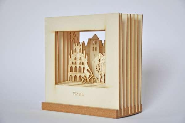 Münster Silhourama - Silhouette Münster 3D 12cm