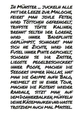 Postkarte In Münster... - Bockstette