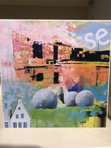 Wandbild Standbild Aasee - Ottenjann