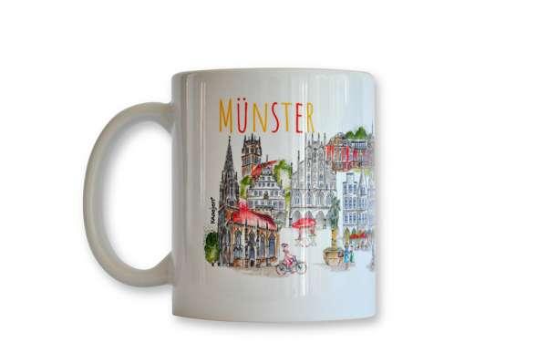 Tasse Münster Kraejen