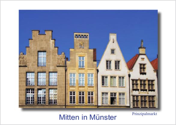 Postkarte Giebel mmm
