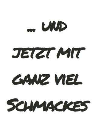 Postkarte Schmackes - Bockstette