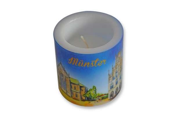 Kerze Windlichtkerze Münster