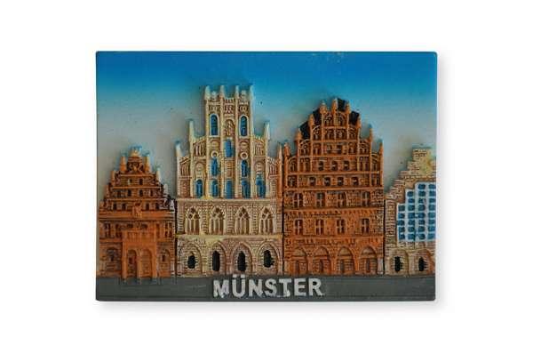 Poly-Magnet Münster Rathaus 3D